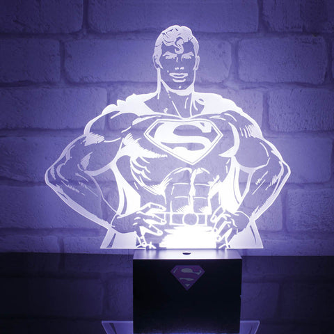 DC Comics Superman Hero Light