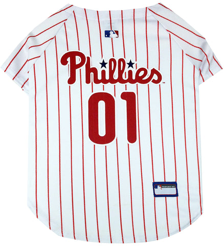 Philadelphia Phillies Pinstripe Dog Jersey