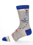 """Baseball Socks"" Men's Crew Socks"