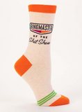"""Ringmaster of the Shit Show"" Women's Crew Socks"