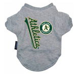 Oakland Athletics Dog Tee Shirt