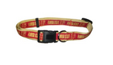 Florida State Dog Collar with Ribbon Trim
