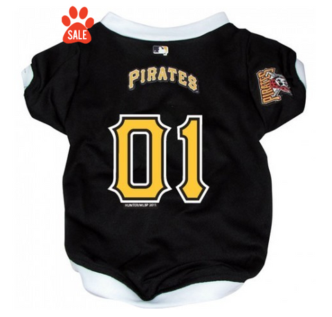 Pittsburgh Pirates Dog Jersey - V Neck