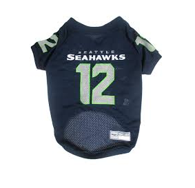 Seattle Seahawks Dog Jersey - 12th Man