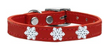 Snowflake Widget Pet Collar