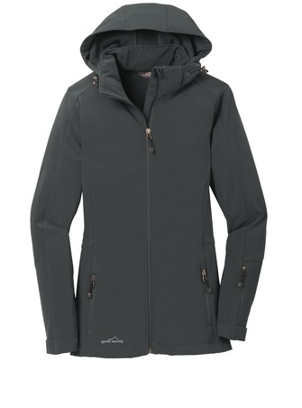Ladies Eddie Bauer Hooded Soft Shell Parka