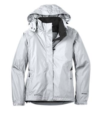Ladies Eddie Bauer Rain Jacket