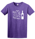 Witch Way To The Wine Halloween T-Shirt