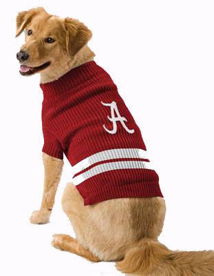 Alabama Dog Sweater