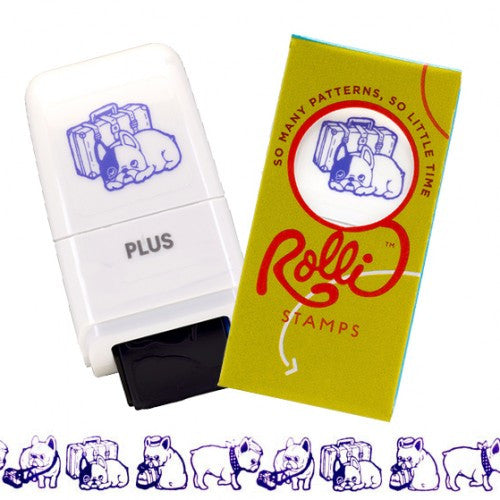 Rolli Traveling Dogs Stamp