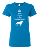 Keep Calm and Love Clydesdales Women's short sleeve t-shirt