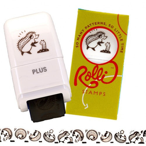Rolli Hedgehogs Stamp