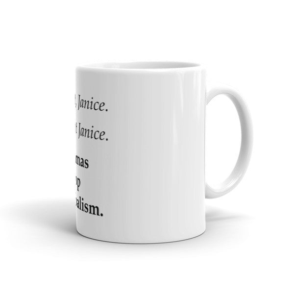 Commas Stop Cannibalism Mug