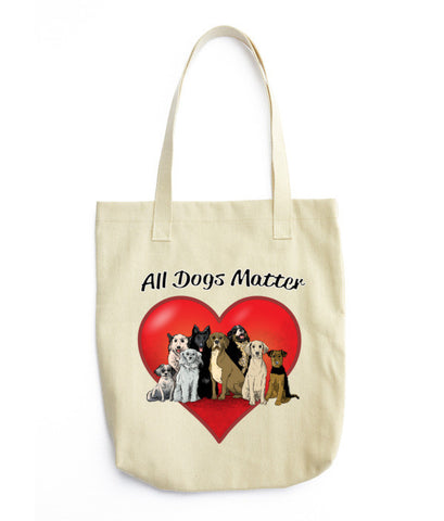 All Dogs Matter Tote bag