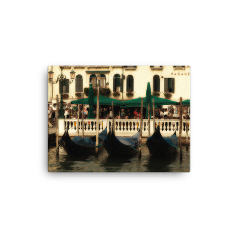 Venice Gondola Canvas