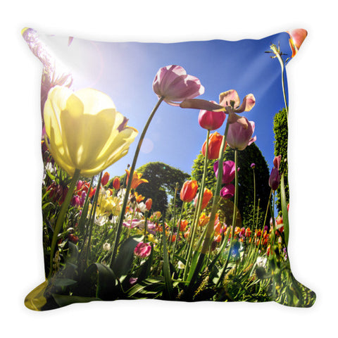 Keukenhoff Gardens Netherlands Pillow