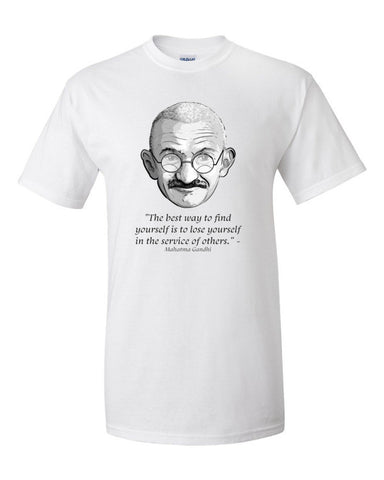 Ghandi Short sleeve t-shirt