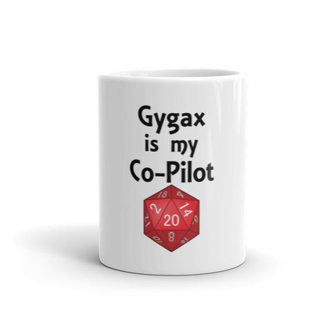 Gygax is My Co-Pilot Mug