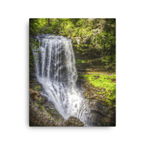 Dry Falls North Carolina Canvas