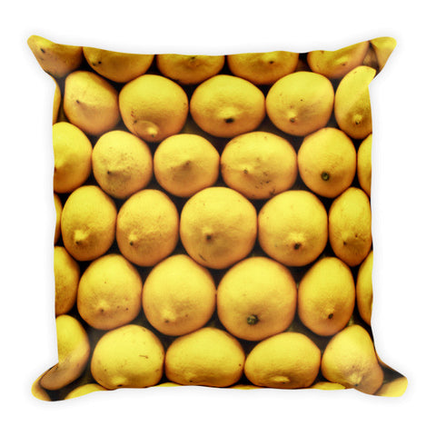 Barcelona La Boqueria Lemons Pillow