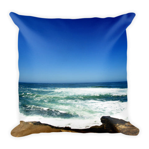 Pacific Ocean Pillow