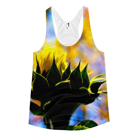 Sunflower - Women's racerback tank