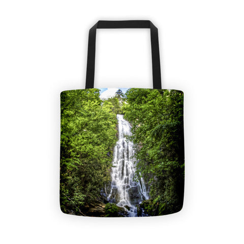 Mingo Falls North Carolina Tote bag