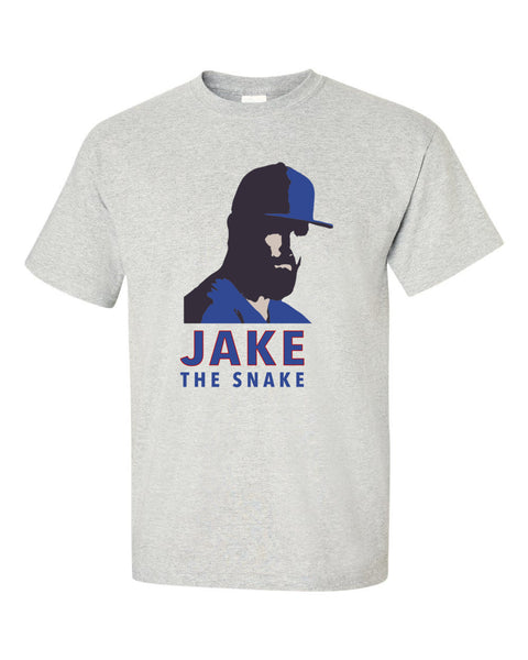 Jake The Snake Chicago Cubs Short sleeve t-shirt