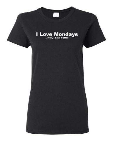 I Love Mondays Women's short sleeve t-shirt