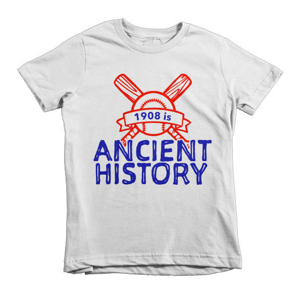 1908 is Ancient History Kids t-shirt