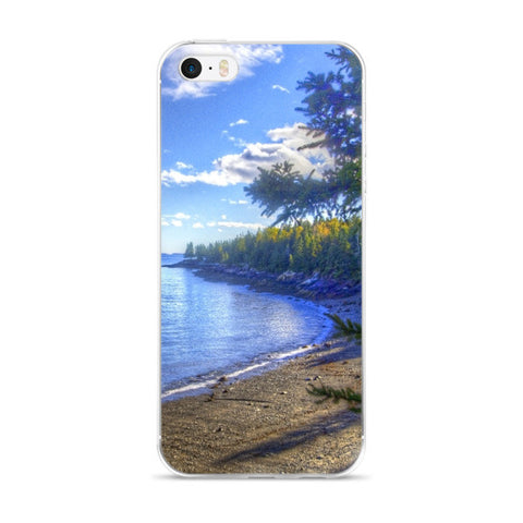 Maine Coast iPhone case