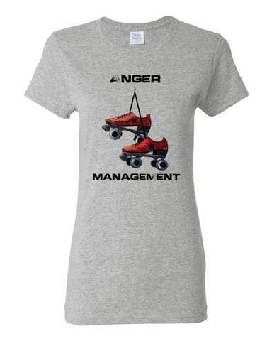 Anger Management Roller Derby Women's short sleeve t-shirt