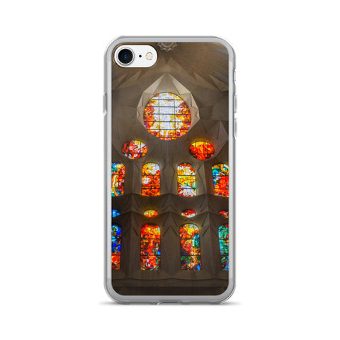 Sagrada Familia Stained Glass iPhone 7/7 Plus Case