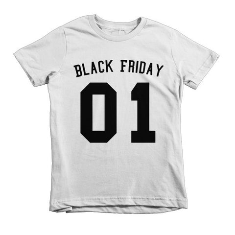 Team Black Friday Short sleeve kids t-shirt