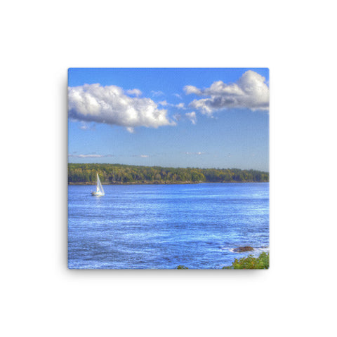 Maine Sailboat Canvas