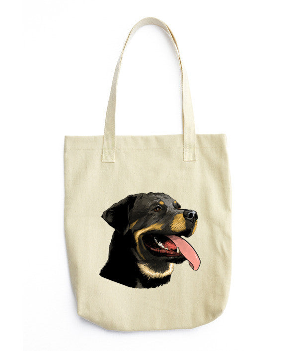 Rottweilers Tote bag