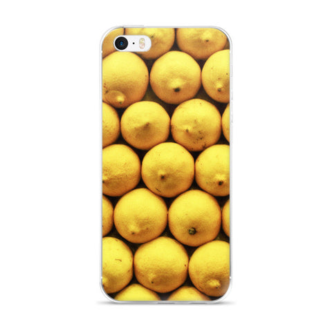 Barcelona La Boqueria Lemons iPhone case