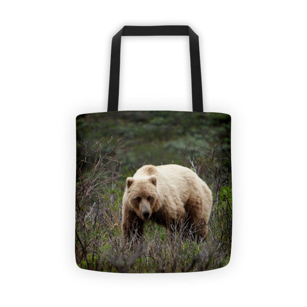 Denali Bear Tote bag