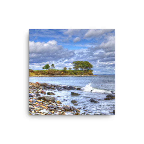 Maine Ocean Canvas