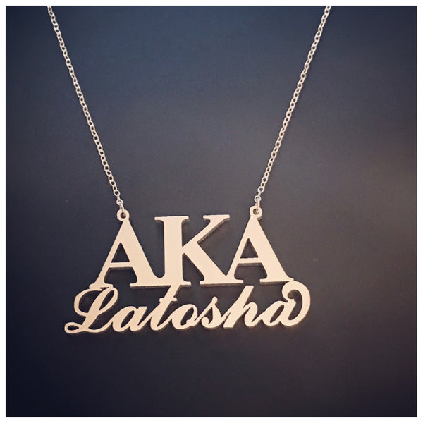 AKA Name Necklace