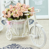Little Bike Flowers Basket