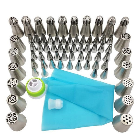 Cake Decorating Nozzle Set
