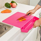 Plastic Cutting Board With Storage Box