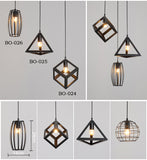 Diversity of modern minimalist pendant lights