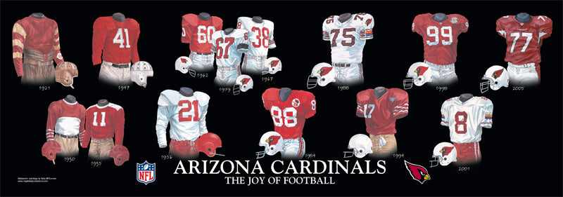 Arizona Cardinals Uniform Print