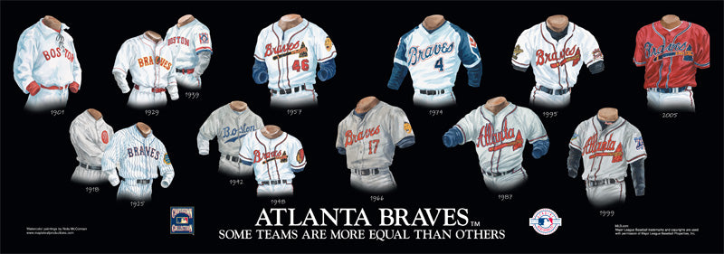 Atlanta Braves Uniform Print