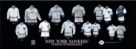 New York Yankees Uniform Print
