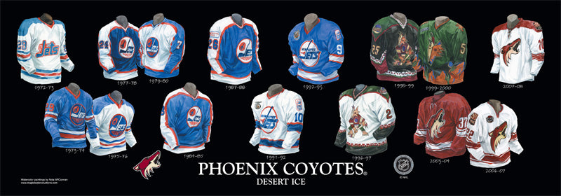 outlet store cca67 3a389 Arizona Coyotes – Heritage Sports Art
