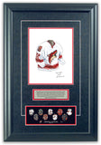 Arizona Coyotes 2005-06 - Heritage Sports Art - original watercolor artwork - 2