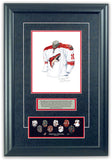 Arizona Coyotes 2007-08 - Heritage Sports Art - original watercolor artwork - 2